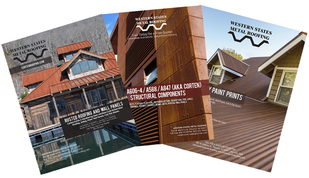 Download Our Corten Weathering Steel and Components Catalog