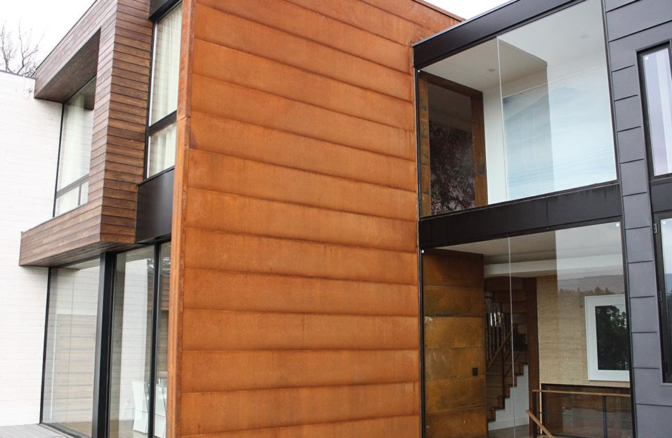 Rustwall® A606-4 Siding