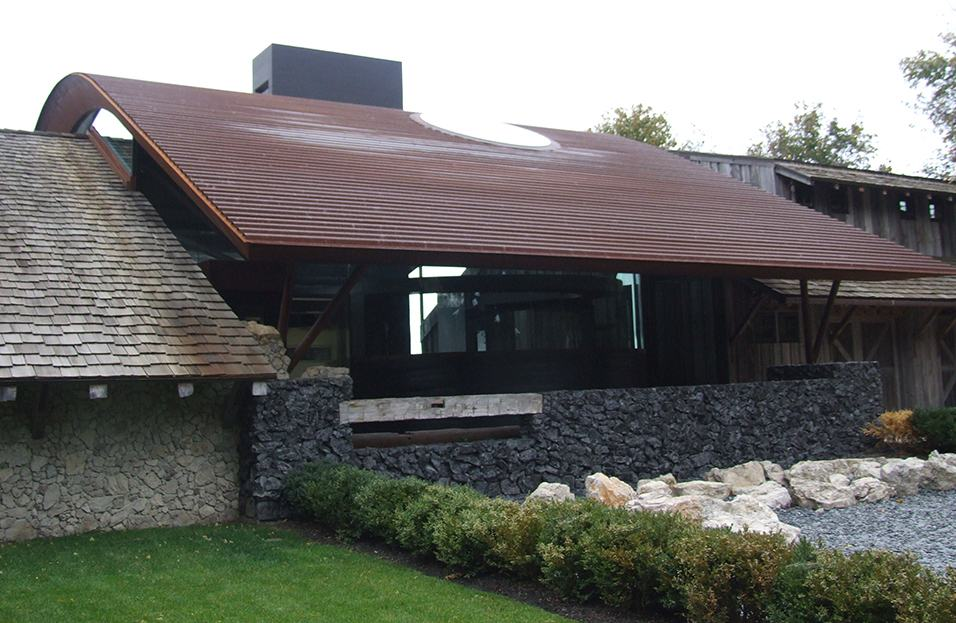 Western Rib Panel In Corten And A606 4 At Cortenroofing Com