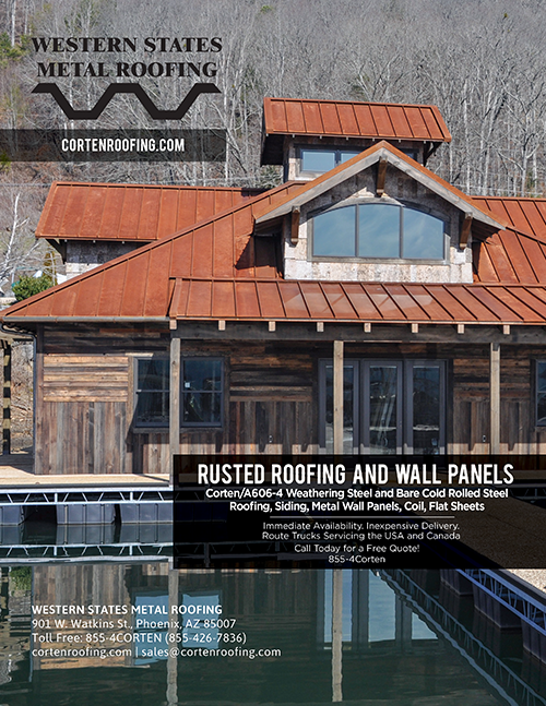 Corten Roofing Panels Catalog